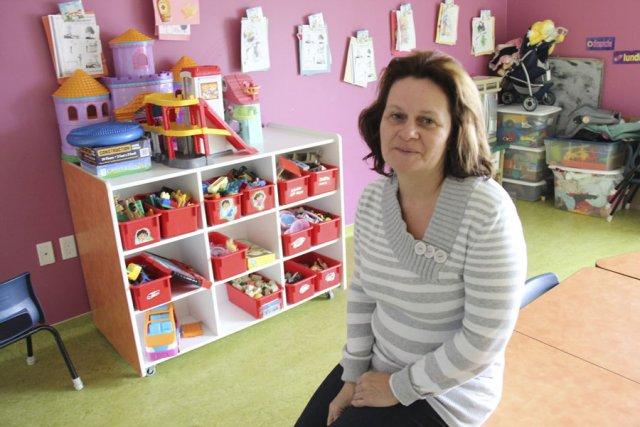 Linda Gince, propriétaire de la garderie Les Minis-Apprentis,... (photo janick marois)