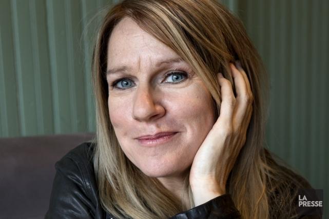 Sylvie Paquette aime prendre son temps entre deux... (Photo Robert Skinner, La Presse)