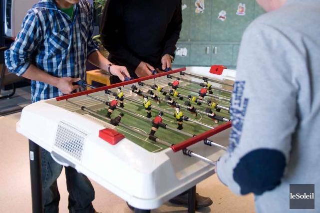 Une salle de jeu du Centre jeunesse de... (Le Soleil, Steve Deschênes)