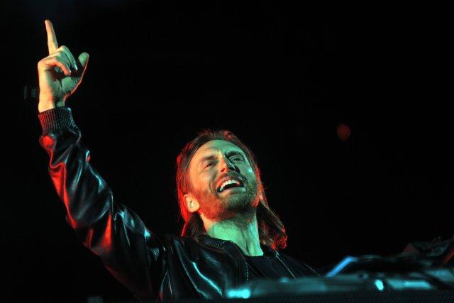 C'est la quatrième fois que David Guetta participe... (PHOTO HECTOR RETAMAL, AFP)