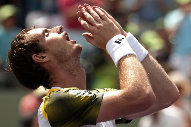 Andy Murray va redevenir N.2 mondial lundi.... (Photo : Kevin Lamarque, Reuters)