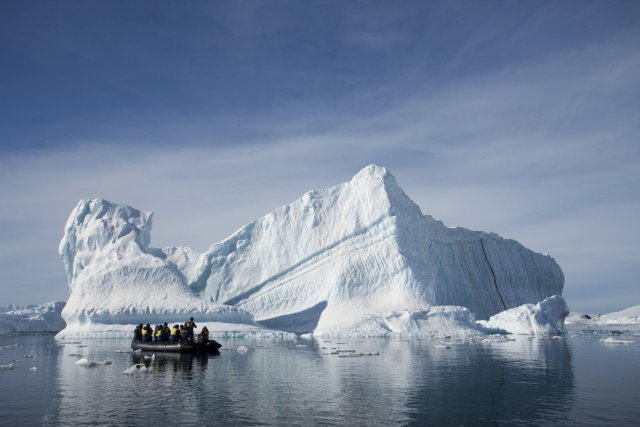 D'après l'étude, publiée dans la revueNature Geoscience, c'est... (Photo Andrew Halsall/ Aurora Expeditions)
