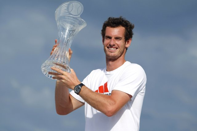 Andy Murray a remporté le tournoi de Miami,... (Photo Wilfredo Lee, AP)