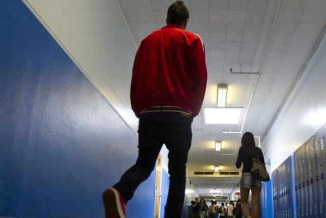 Les écoles secondaires ont vite adopté Spotted, pour... (Photo : archives La Presse)