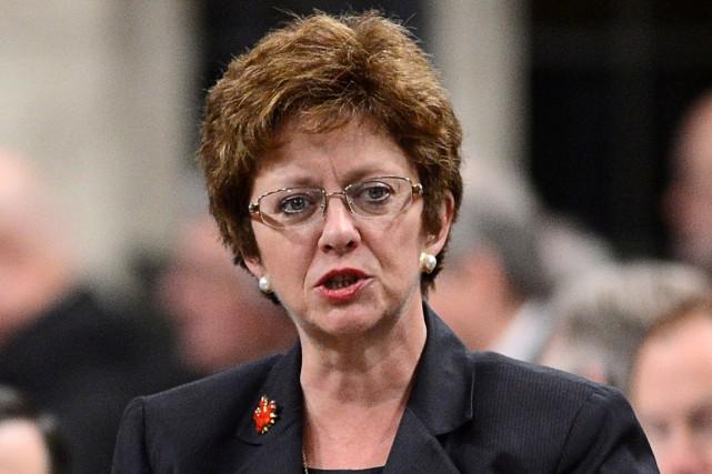 La ministre fédérale des Ressources humaines, Diane Finley.... (PHOTO ARCHIVES LA PRESSE CANADIENNE)