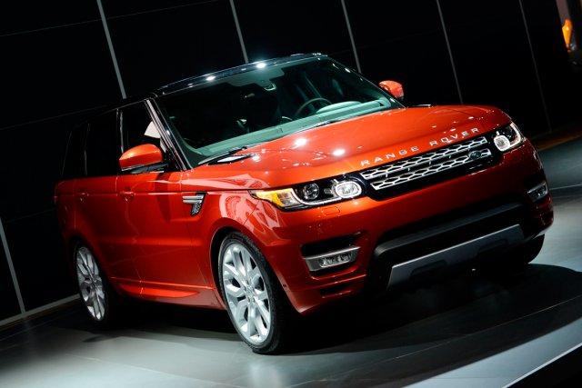 75% des composantes du Range Rover Sport lui... (PHOTO STAN HONDA, AFP)