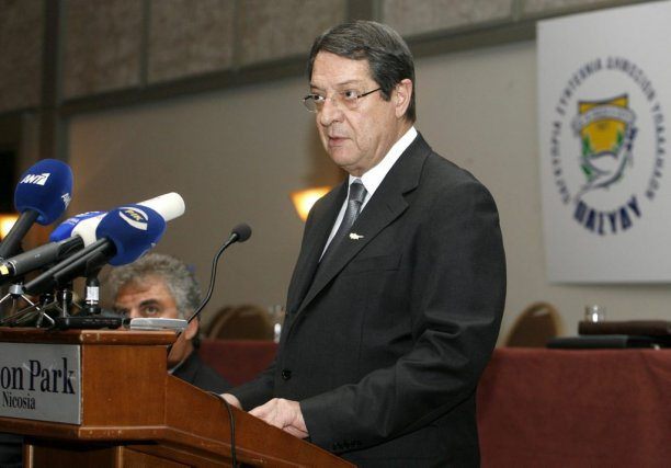 Le président chypriote Nicos Anastasiades.... (Photo Philippos Christou, archives Associated Press)