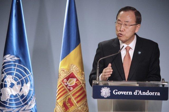 Ban Ki-moon... (Photo Reuters)