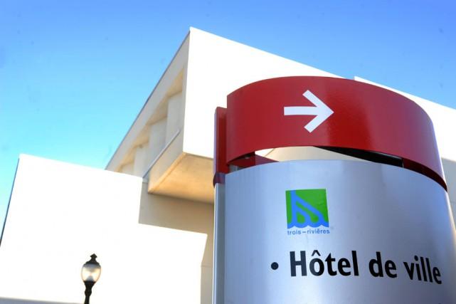 L'hôtel de ville de Trois-Rivières.... (Photo: Stéphane Lessard)