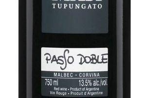 GOURMAND - Tupungato 2011 Paso Doble Malbec-Corvina Masi....