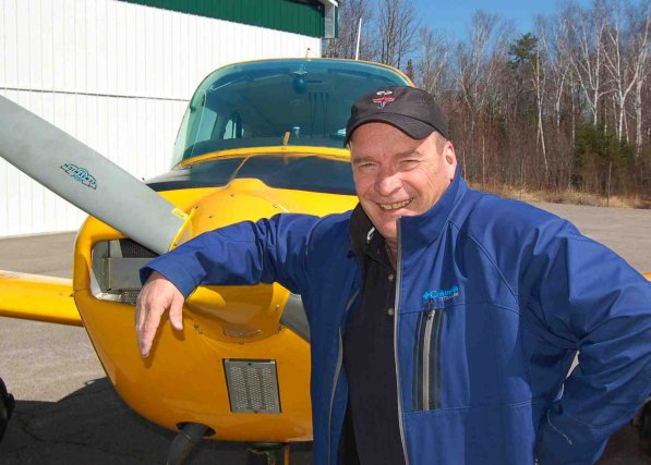 L'aviateur Guy Simard estime que le lac Saint-Jean... (Archives Le Quotidien)