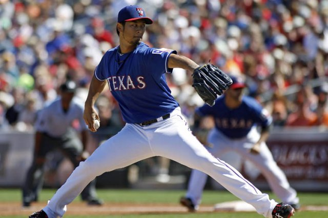 Yu Darvish... (Photo: AP)
