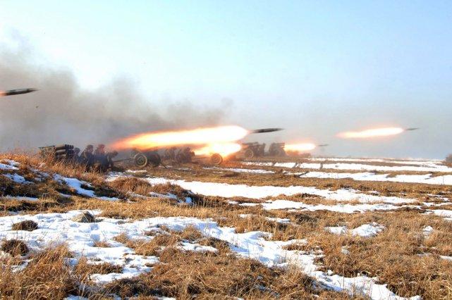 Depuis plusieurs semaines, la Corée du Nord ne... (PHOTO REUTERS/KCNA)