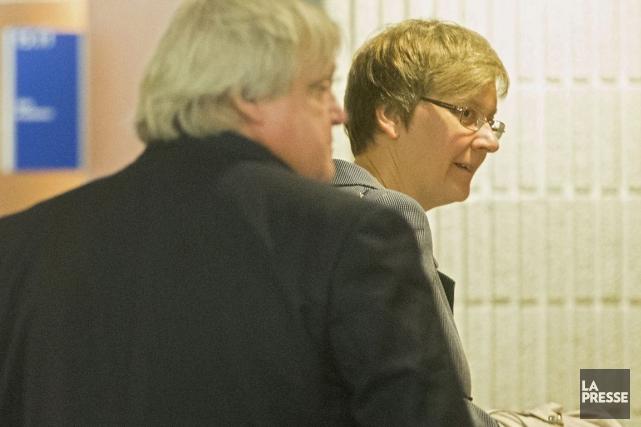 La Dre Marie-Josée Berthiaume poursuivait 12 radiologistes de... (Photo Ivanoh Demers, La Presse)