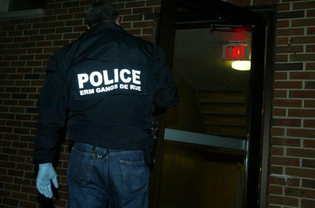 L'Escouade régionale mixte (ERM) de lutte aux gangs de rue de  l'Outaouais... (Archives, LeDroit)