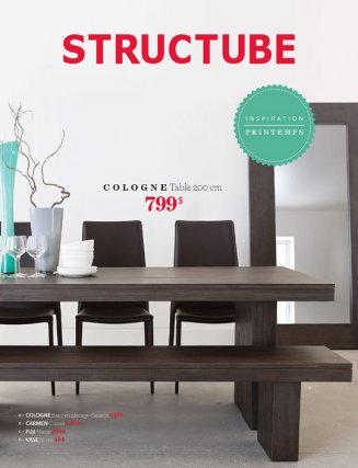 Inspiration printemps chez structube mobilier for Structube meuble