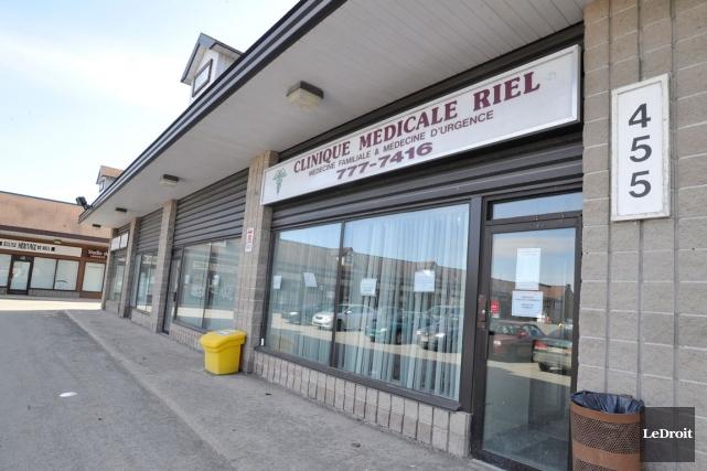 Bien que la clinique Riel ferme ses portes,... (Patrick Woodbury, Archives LeDroit)