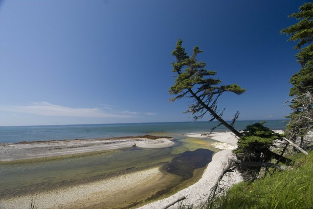Le parc national d'Anticosti.... (PHOTO JEAN-SÉBASTIEN PERRON, FOURNIE PAR LA SEPAQ)