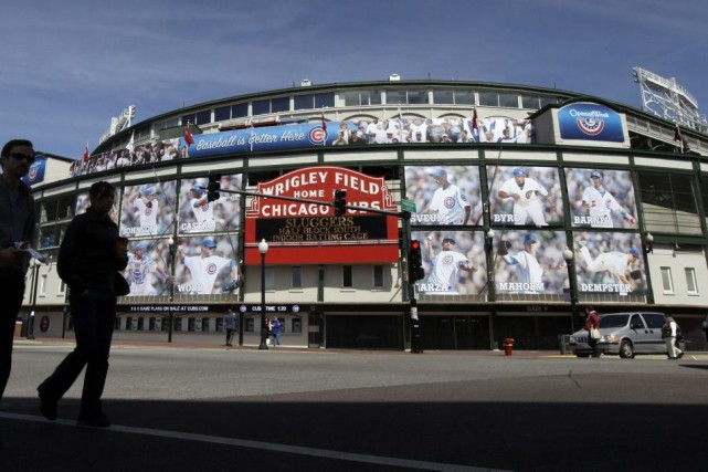 Le Wrigley Field... (Photo Nam Y. Huh, Associated Press)