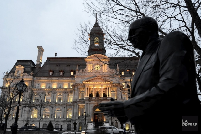 L'hôtel de ville de Montréal.... (Photo Bernard Brault, Archives La Presse)