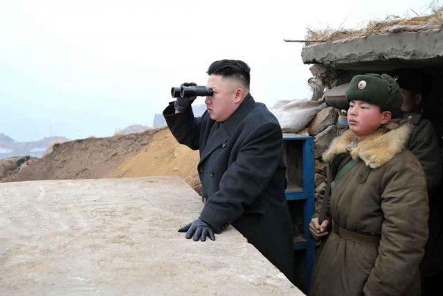 Apparemment, le nouveau leader nord-coréen Kim Jong Un... (Photo AP)