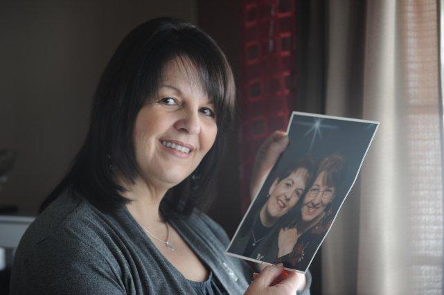 Lyne Perron a retrouvé sa mère biologique après... (Photo: Sylvain Mayer)