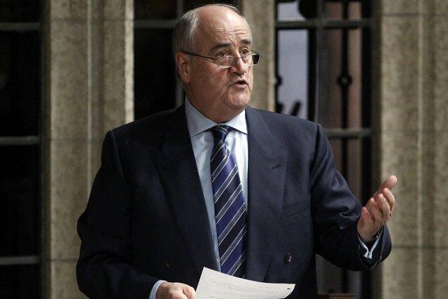 Julian Fantino, ministre de la Coopération internationale.... (Photo: Reuters)