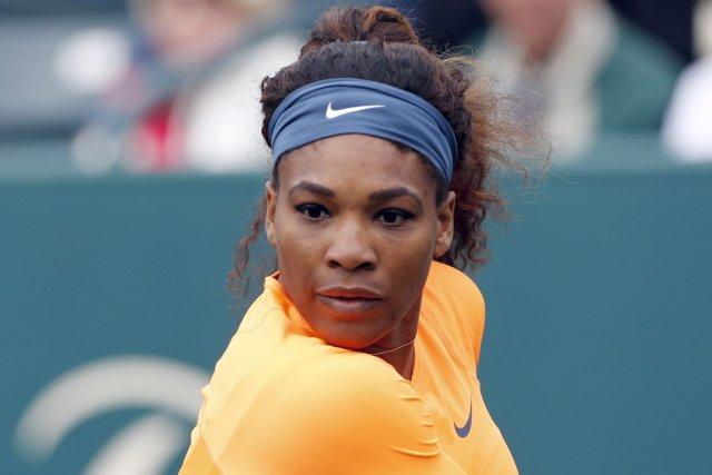 Serena Williams... (Photo : Mic Smith, archives AP)