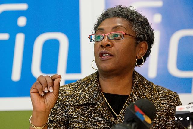 La présidente de la Fédération interprofessionnelle de la... (PHOTO ARCHIVES LE SOLEIL)