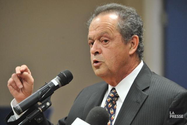Alain Drouin, maire de Nicolet....