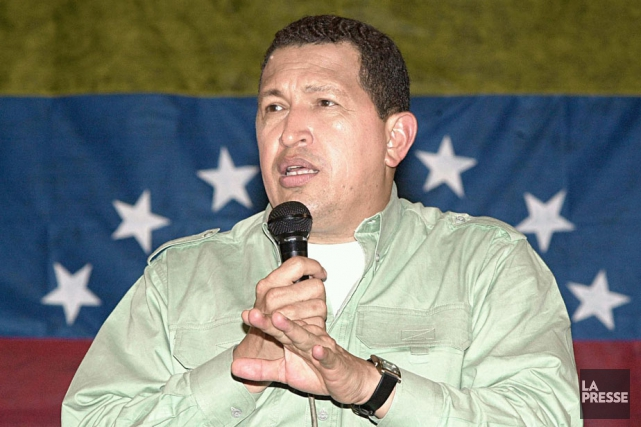 Hugo Chavez... (Archives La Presse)