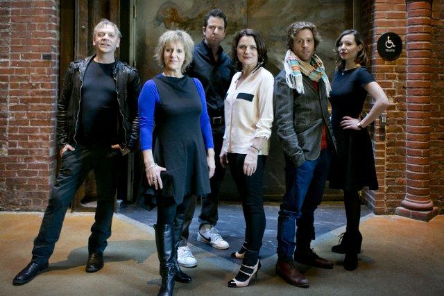 Marc Labrèche, Lorraine Pintal, Patrice Robitaille, Marie-Thérèse Fortin,... (Photo: Marco Campanozzi, La Presse)