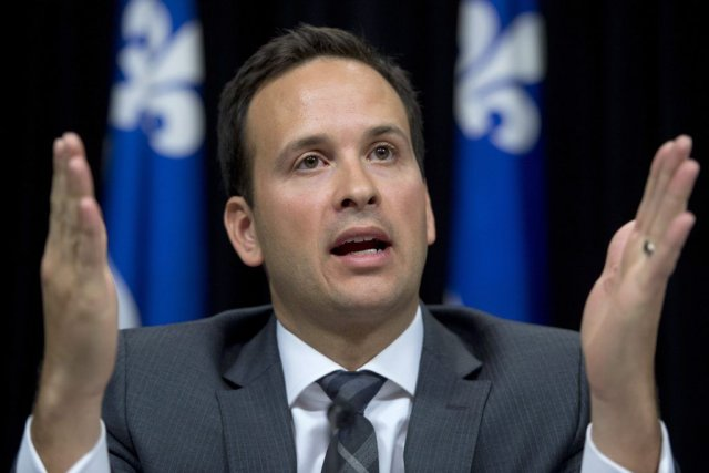 Alexandre Cloutier... (Photo La Presse Canadienne)