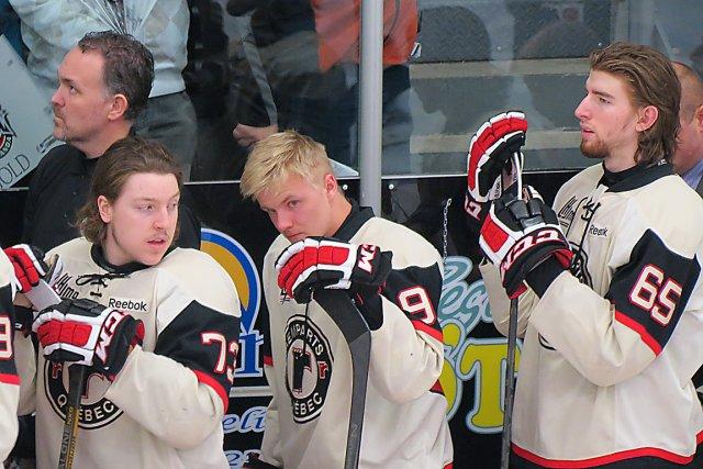Nick Sorensen (à droite) était insatisfait de sa... (Photo Le Soleil Carl Tardif)