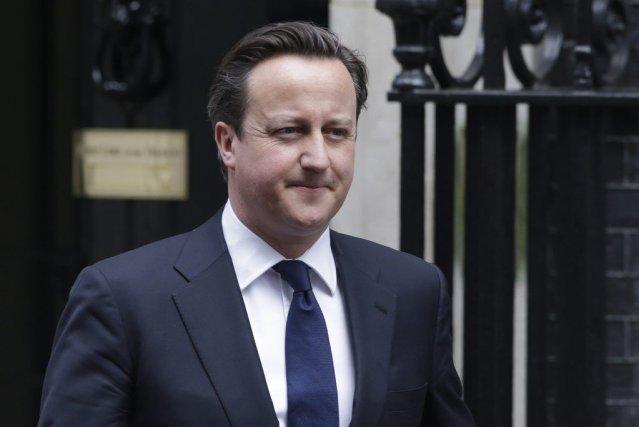 Le premier ministre David Cameron devait présider, mercredi,... (Photo Lefteris Pitarakis, AP)