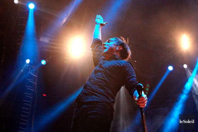 Ben Kowalewicz, du groupe Billy Talent... (Photothèque Le Soleil, Pascal Ratthé)