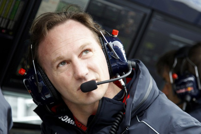 Christian Horner est contraint de faire de la... (Photo Brandon Malone, archives Reuters)