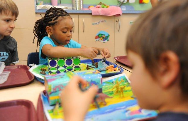 Les centres de la petite  enfance (CPE) de la région poussent  un soupir de... (Imacom, Jessica Garneau)