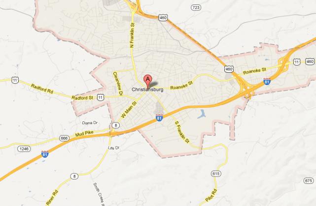 Deux femmes ont été blessées vendredi après qu'un tireur eut ouvert le  feu sur... (IMAGE TIRÉE DE MAPS.GOOGLE.COM)