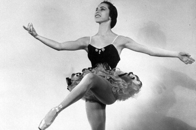 Maria Tallchief en 1951... (Photo: archives AP)