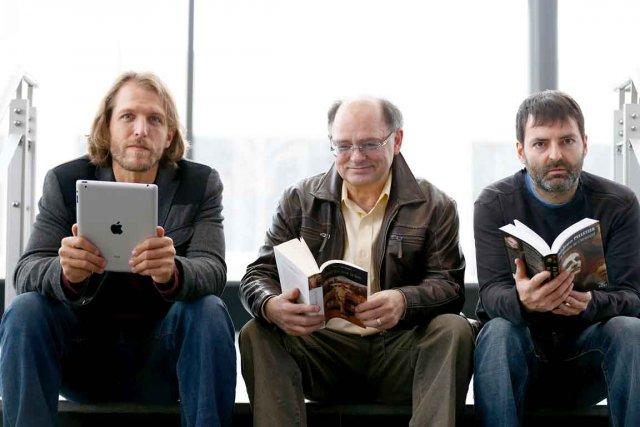Deni Y. Béchard, Jean-Jacques Pelletier et François Blais... (Photothèque Le Soleil, Yan Doublet)