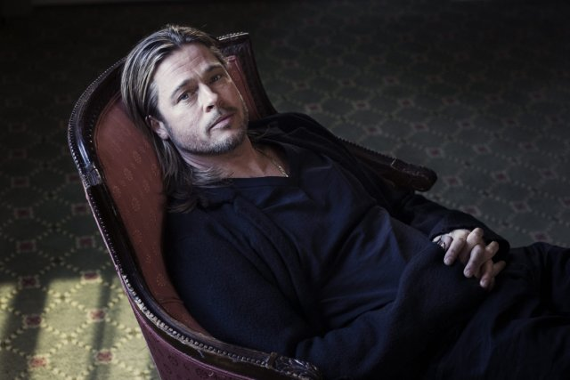 Brad Pitt... (PHOTO REUTERS)