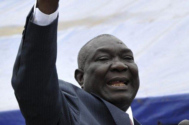 M. Djotodia, qui s'était autoproclamé président après la... (PHOTO SIA KAMBOU, AFP)