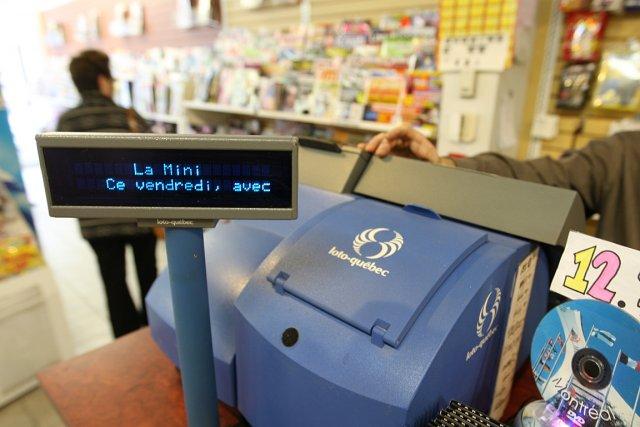 Le plus imposant gros lot de l'histoire de la loterie au Canada a fait... (Photo: Martin Chamberland, archives La Presse)