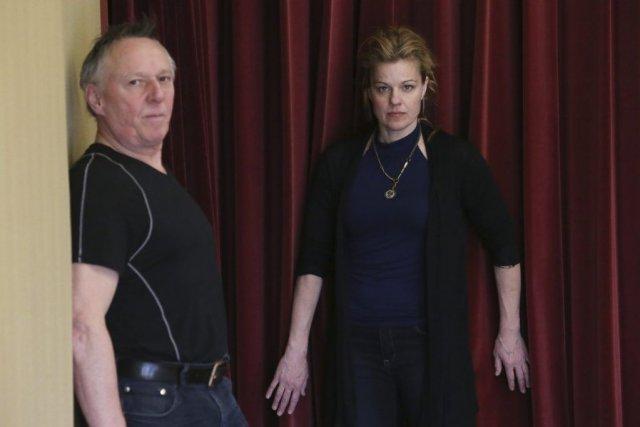 Dans Fatal, le metteur en scène Jean Asselin... (PHOTO MARTIN CHAMBERLAND, LA PRESSE)