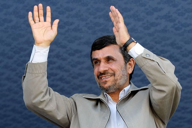 Le président iranien Mahmoud Ahmadinejad.... (Photo: archives AFP/HO/PRESIDENT.IR)