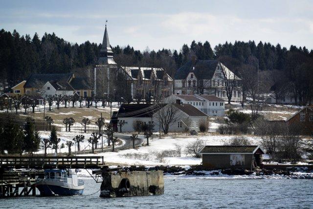 La prison de Bastøy, située sur une île,... (Photo : Bernard Brault, La Presse)