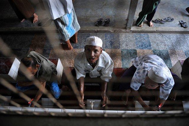Le dernier recensement, effectué par la junte il... (Photo: AFP)