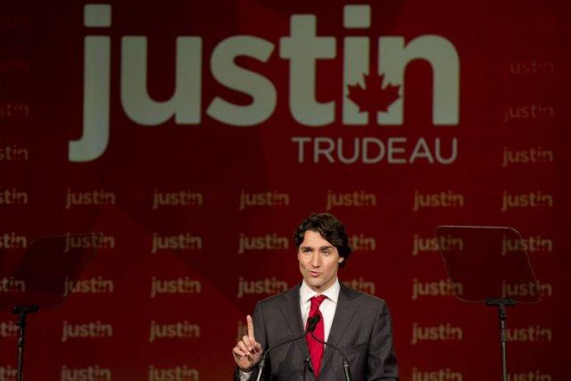 D'après vous, l'élection de Justin Trudeau comme chef du Parti libéral du... (Photo: PC)