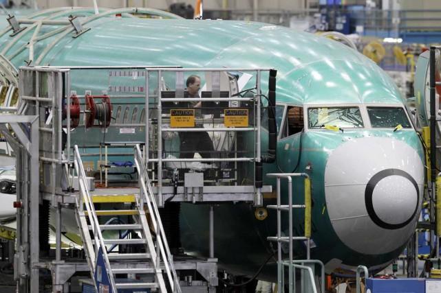 Grâce au 737, Boeing dépasse son précédent record... (Photo archives associated Press)